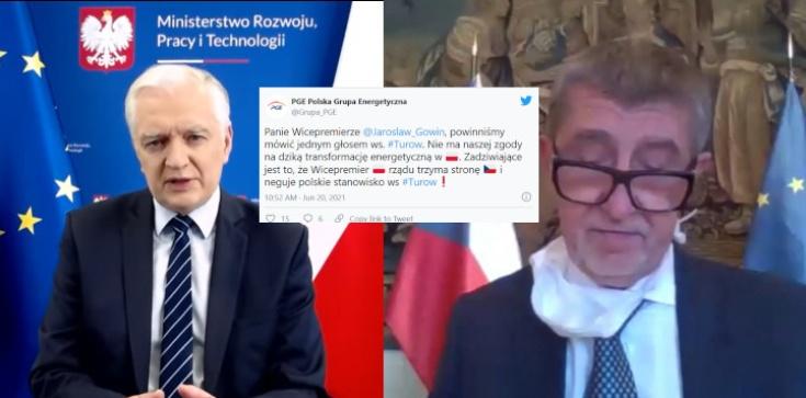 Gowin trzyma stronę Czech? Wicepremier zarzuca PGE błędy ws. Turowa - zdjęcie