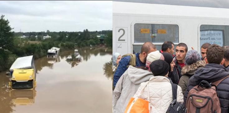Powodzie w Niemczech. Mieszkańcy: Gdzie są uchodźcy? - zdjęcie