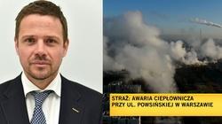 Warszawa zalana szambem. Teraz będzie marznąć. ,,Warszawiacy mogą na chłodno przemyśleć ponownie swój wybór'' - miniaturka
