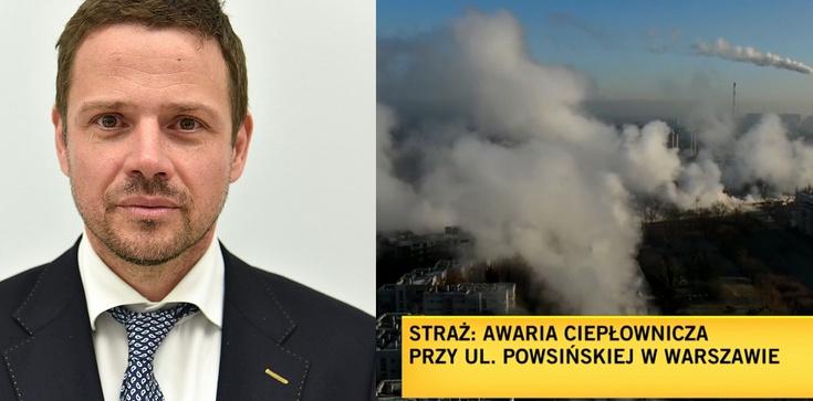 Warszawa zalana szambem. Teraz będzie marznąć. ,,Warszawiacy mogą na chłodno przemyśleć ponownie swój wybór'' - zdjęcie