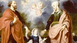 Święci Anna i Joachim - rodzice Matki Bożej - miniaturka