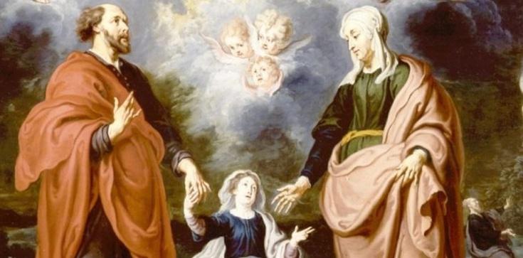Święci Anna i Joachim - rodzice Matki Bożej - zdjęcie