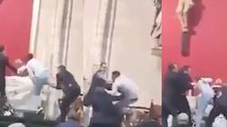 Szok! Muzułmanin zaatakował księdza na Mszy, krzycząc 'Allahu akbar' [FILM] - miniaturka