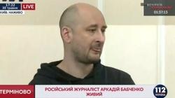 Arkadij Babczenko żyje. Skąd informacje o zabójstwie? - miniaturka