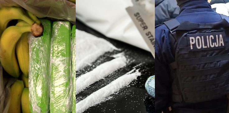 Kupujcie banany, barany! 160 kg narkotyków w znanej sieci marketów - zdjęcie