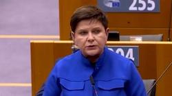 Szydło ostro w PE o praworządności: Ci którzy o niej mówią, sami chcą ją łamać [Wideo] - miniaturka