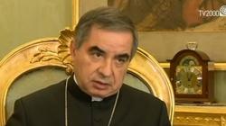Skandal w Watykanie. Kard. Becciu, Sekretariat Stanu i mafia apulijska - miniaturka
