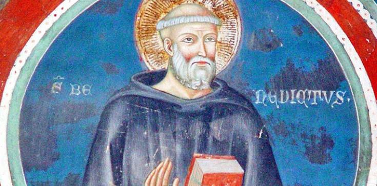 Św. Benedykt - patron chrześcijańskiej Europy - zdjęcie