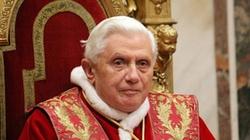 Benedykt XVI: Bez Jezusa nie zdziałacie niczego - miniaturka