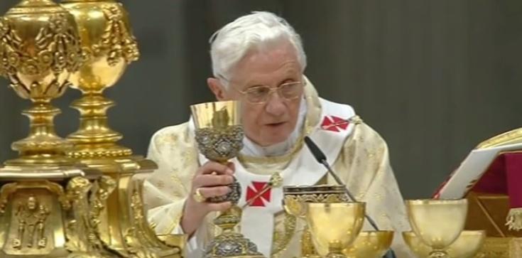 Benedykt XVI o największym wrogu Kościoła świętego - zdjęcie