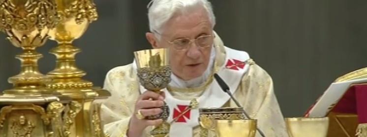 Benedykt XVI: Co jest racją posługi kapłańskiej