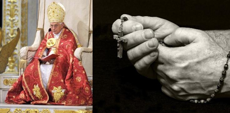 Benedykt XVI: Módlmy się różańcem i naśladujmy Jezusa - zdjęcie