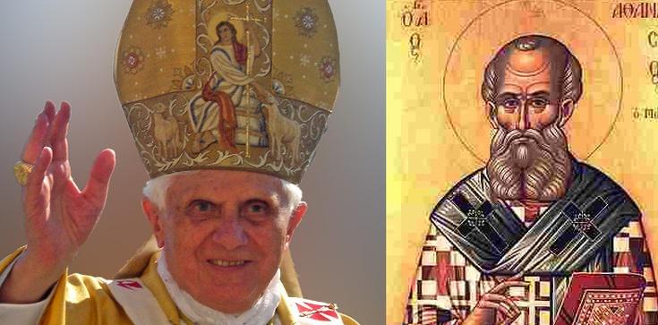 Benedykt XVI: Św. Atanazy - wzór prawowierności!  - zdjęcie