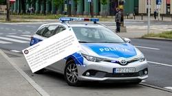Próba zamachu na warszawskich policjantów. Mężczyzna chciał wysadzić samochód  - miniaturka