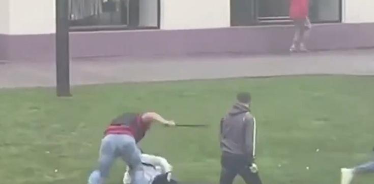 (Wideo, 18+) Mińsk. Ciągle dużo zatrzymań. Nawet dzieci - zdjęcie