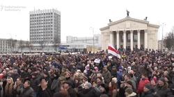 Na Białorusi kolejne protesty przeciw 'dekretowi o pasożytnictwie' - miniaturka