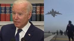 Biden: ,,Ewakuacja z Kabulu była niezwykłym sukcesem'' - miniaturka