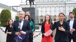 Biedroń błaznuje i stawia warunki prezydentowi w sprawie wizyty w Pałacu Prezydenckim - miniaturka