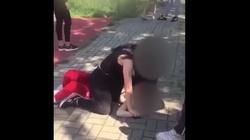 (Wideo) Szokująca agresja uczennicy w Częstochowie: ,,Przeproś za to, że żyjesz'' - miniaturka