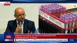 Brawo Polska! Pierwszy na świecie lek na koronawirusa z lubelskiej firmy gotowy - miniaturka