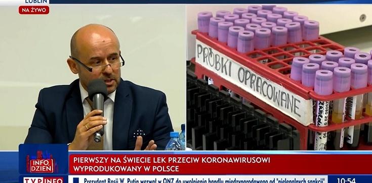 Brawo Polska! Pierwszy na świecie lek na koronawirusa z lubelskiej firmy gotowy - zdjęcie
