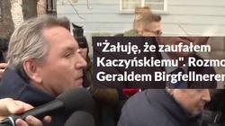 """Żale Birgfellnera w """"Wyborczej"""": Kaczyński mnie oszukał, bo jestem cudzoziemcem - miniaturka"""