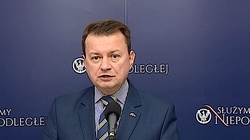 """Min. Błaszczak o tekście Onetu nt. awarii""""GROTa"""": Czy chodzi odziałania lobbystyczne? - miniaturka"""