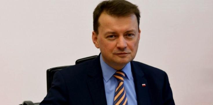 Błaszczak: Verhofstadt powinien przeprosić Polaków - zdjęcie