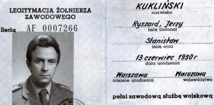 Apel do prezydenta o Order Orła Białego dla gen. Kuklińskiego - zdjęcie