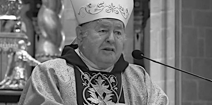 Bp Bogdan Wojtuś nie żyje. Był zakażony koronawirusem - zdjęcie