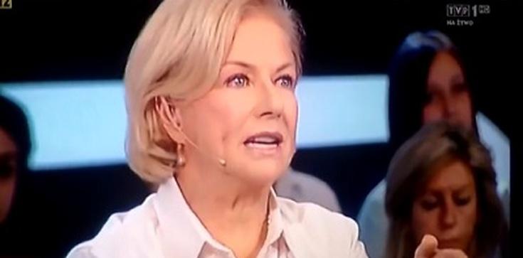 Aktorka Bożena Dykiel dalej atakuje Komorowskiego i PO - zdjęcie