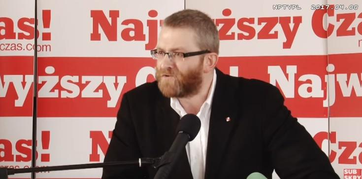 Grzgorz Braun zaskarżył uchwałę PKW do Sądu Najwyższego - zdjęcie