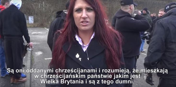 Brytyjska działaczka: Na nasz kontynent dokonuje się inwazja. Polacy, to nasza wspólna walka. Chodźcie z nami! - zdjęcie