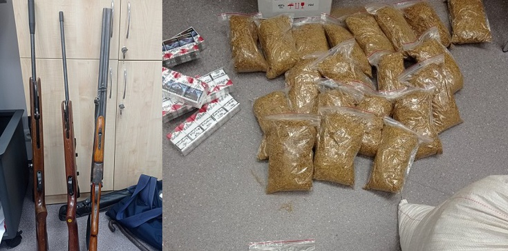 Cela plus! Aresztowanym zatrzymano narkotyki, alkohol bez akcyzy, kradzione pojazdy, nielegalną broń  - zdjęcie