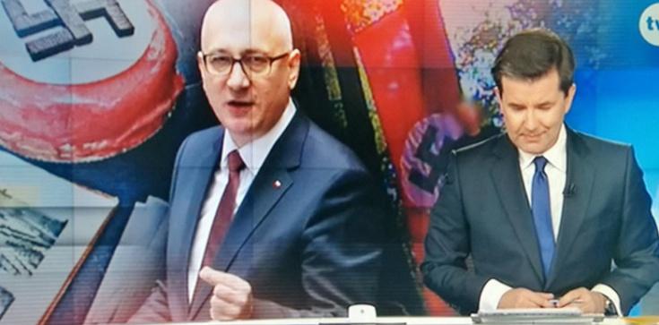 Minister na tle swastyk... Będzie kara dla TVN? - zdjęcie