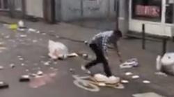 Muzułmanie demolują Brukselę! ZOBACZ wstrząsający film - miniaturka