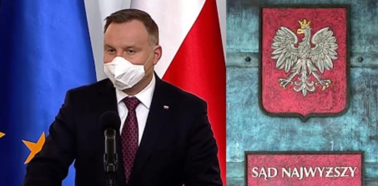 Prezydent Andrzej Duda nie zaangażuje się w spór w SN - zdjęcie