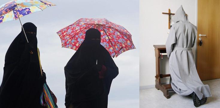 Wraz z burkami UE może zakazać krzyży i habitów... - zdjęcie