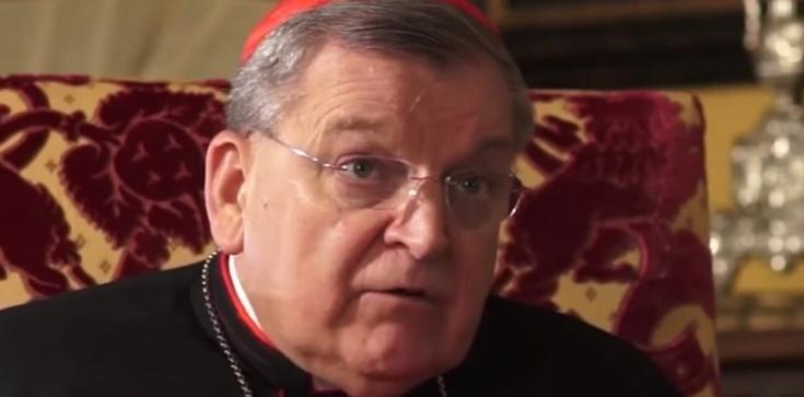 Kard. Burke: Słowa papieża wywołują zamieszanie i zgorszenie - zdjęcie