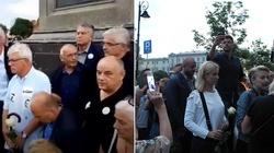 'Barbarzyńcy RP' - Frasyniuk, Cimoszewicz, Marcinkiewicz ustąpili z placu - FOTO i WIDEORELACJA - miniaturka