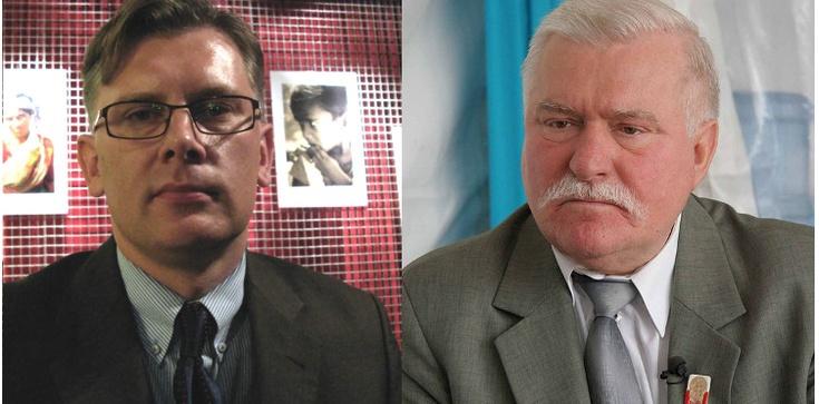 Cenckiewicz pokazuje list Wałęsy do Jaruzelskiego - zdjęcie