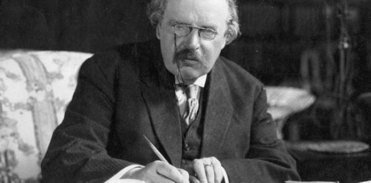 G. K. Chesterton o ... przekazach z zaświatów - zdjęcie