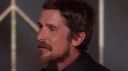 Satanizm Hollywood obnażony. Aktor Christian Bale dziękuje szatanowi - miniaturka