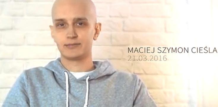 Maciej Cieśla, grafik, którego wspomniał Papież: Życzę Wam, byście cieszyli się życiem - zdjęcie