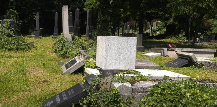 Sprawcy dewastacji cmentarza żydowskiego w Bielsku-Białej zatrzymani – wszyscy są nieletni - zdjęcie