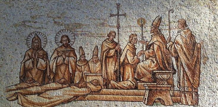 Watykan. Mszą Świętą uczczono 30-lecie Grupy Wyszehradzkiej - zdjęcie