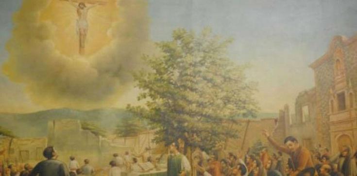 Ponad dwa tysiące osób zobaczyło na niebie ukrzyżowanego Jezusa Chrystusa! - zdjęcie