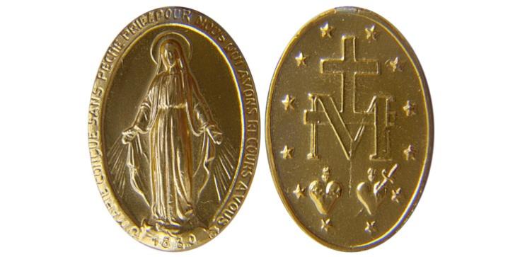 Oto, dlaczego warto nosić Cudowny Medalik Niepokalanej - zdjęcie
