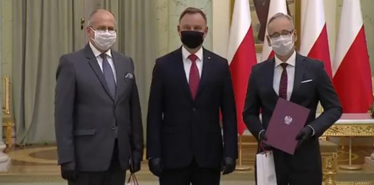 Nowi szefowie MSZ i MZ już zaprzysiężeni - zdjęcie