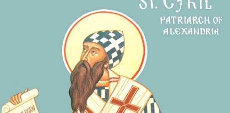 Cyryl Aleksandryjski - stróż wiary, ,,pieczęć Ojców'' - zdjęcie